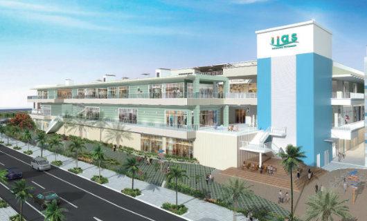"Shopping mall ""iias Okinawa Toyosaki"""