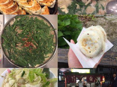 2015年6月7日 山ちゃん旅行記 福岡 食事(食倒れ)