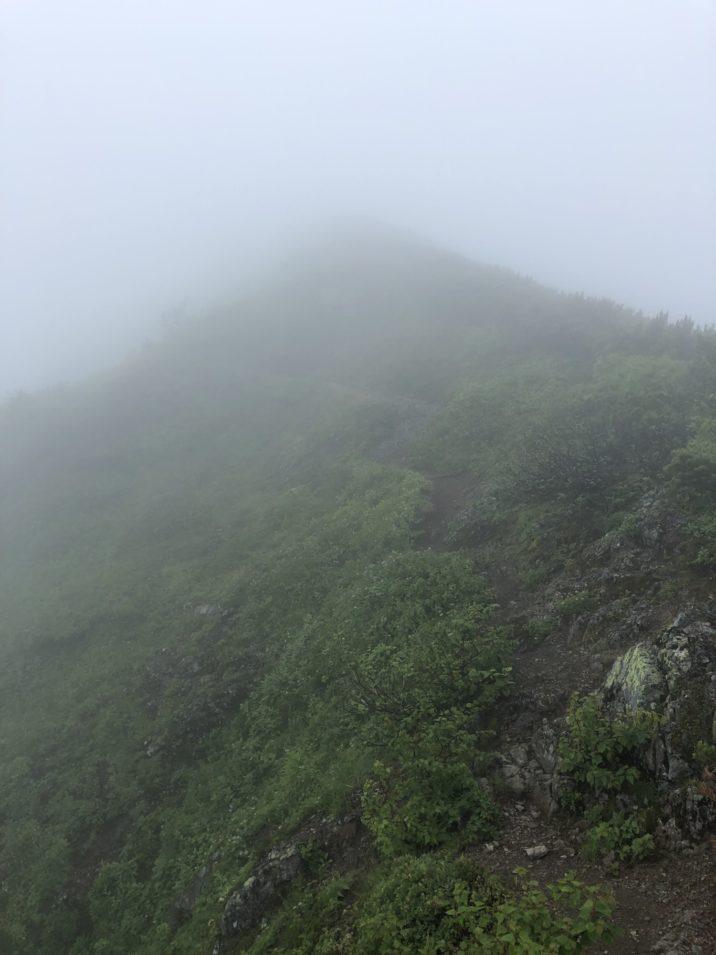 石狩岳登り 3