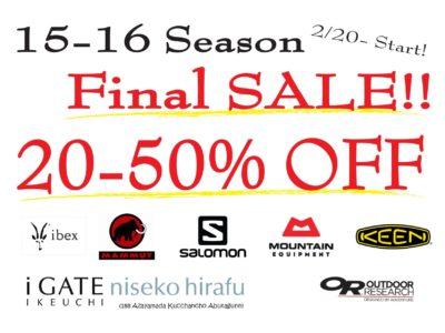15 16 Sale