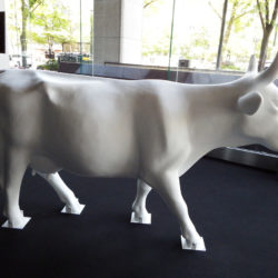 Cow in Sapporo!